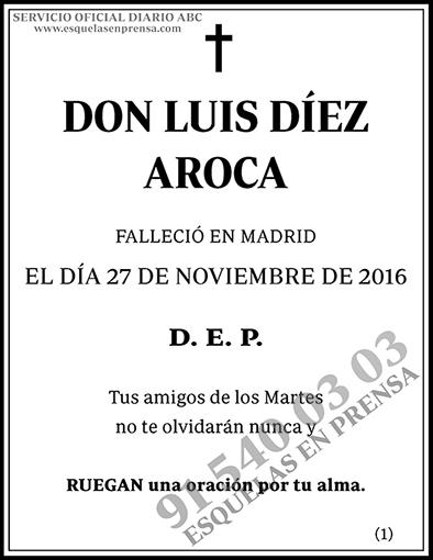 Luis Díez Aroca